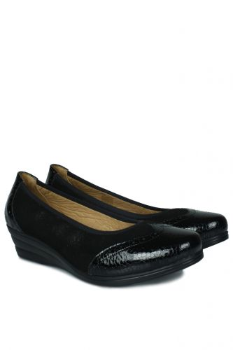 Erkan Kaban - Erkan Kaban 6402 025 Kadın Siyah Günlük Büyük & Küçük Numara Ayakkabı (1)