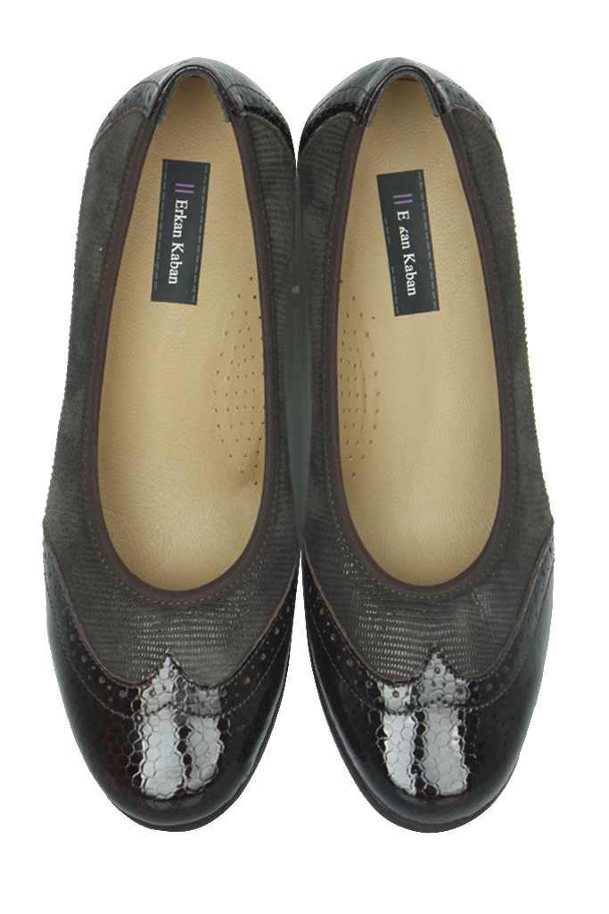 Erkan Kaban 6402 225 Kadın Kahve Günlük Ayakkabı