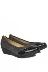 Fitbas 6402 225 Kadın Kahve Günlük Büyük & Küçük Numara Ayakkabı - Thumbnail