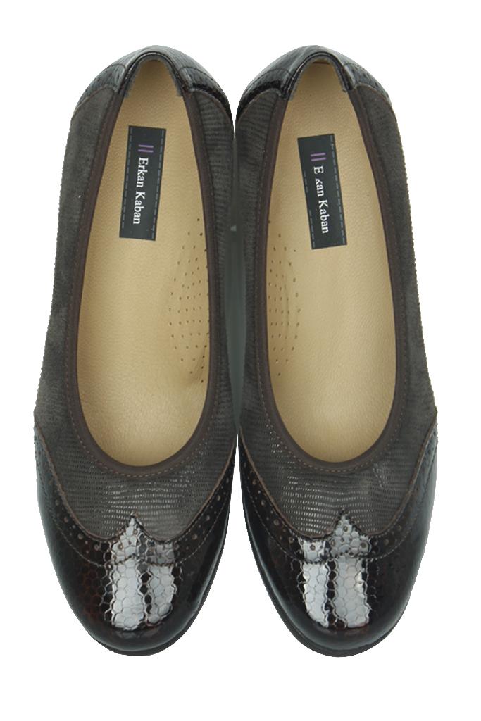 Fitbas 6402 225 Kadın Kahve Günlük Büyük & Küçük Numara Ayakkabı