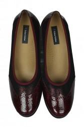 Erkan Kaban 6402 625 Kadın Bordo Günlük Ayakkabı - Thumbnail