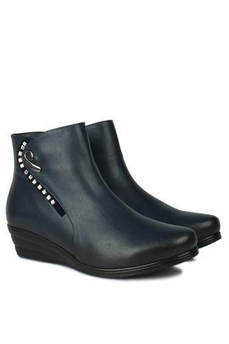 Fitbas - Erkan Kaban 6720 424 Women Navy Blue Boot (1)