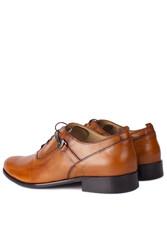 Erkan Kaban 801 162 Erkek Taba Deri Klasik Büyük & Küçük Numara Ayakkabı - Thumbnail