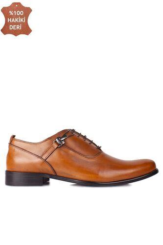 Erkan Kaban 801 162 Erkek Taba Deri Klasik Büyük & Küçük Numara Ayakkabı