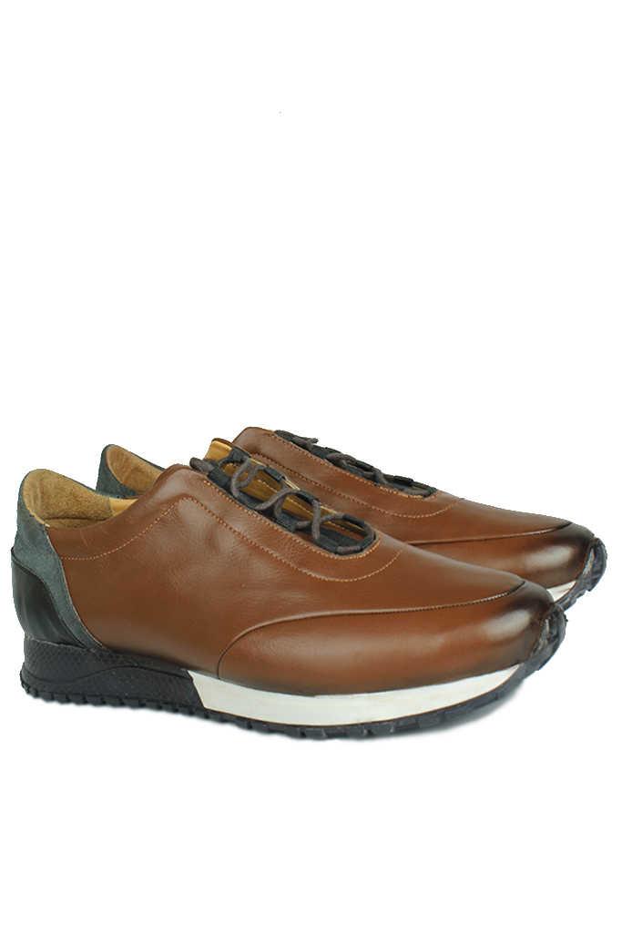 Erkan Kaban 914510 167 Erkek Taba Deri Sport Ayakkabı