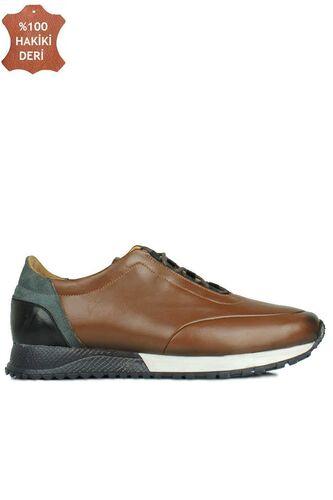 Fitbas 914510 167 Erkek Taba Deri Spor Büyük Numara Ayakkabı