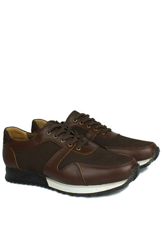 Fitbas - Erkan Kaban 914512 032 Men Brown Genuine Leather Sport Shoes (1)