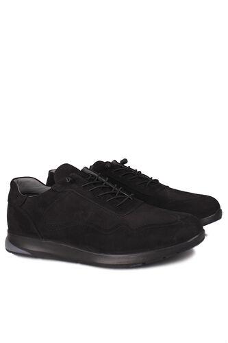 Erkan Kaban - Erkan Kaban 914601 008 Erkek Siyah Deri Spor Büyük Numara Ayakkabı (1)