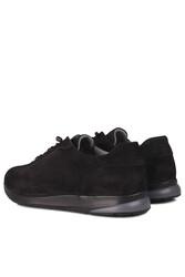 Erkan Kaban 914601 008 Erkek Siyah Deri Spor Büyük Numara Ayakkabı - Thumbnail