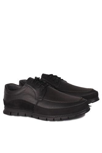 Erkan Kaban - Erkan Kaban 914602 014 Erkek Siyah Deri Spor Büyük Numara Ayakkabı (1)
