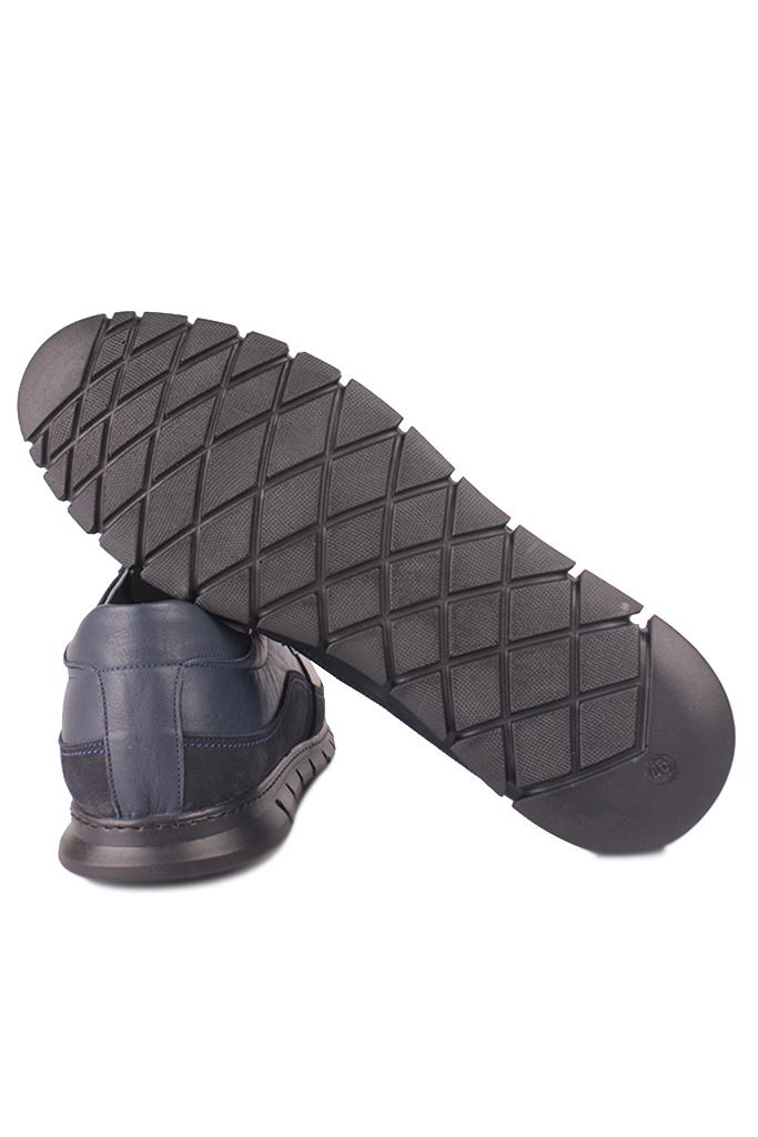 Erkan Kaban 914602 424 Erkek Lacivert Deri Spor Büyük Numara Ayakkabı
