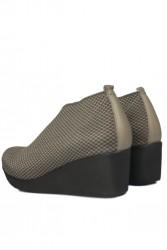 Erkan Kaban 1212 318 Kadın Mink Büyük & Küçük Numara Ayakkabı - Thumbnail