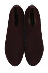 Fitbas 1212 618 Kadın Bordo Büyük & Küçük Numara Ayakkabı - Thumbnail