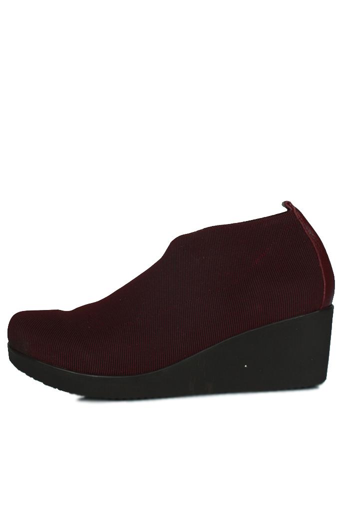 Erkan Kaban 1212 618 Kadın Bordo Ayakkabı