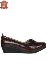 Fitbas 4740 220 Kadın Kahve Günlük Büyük & Küçük Numara Ayakkabı - Thumbnail