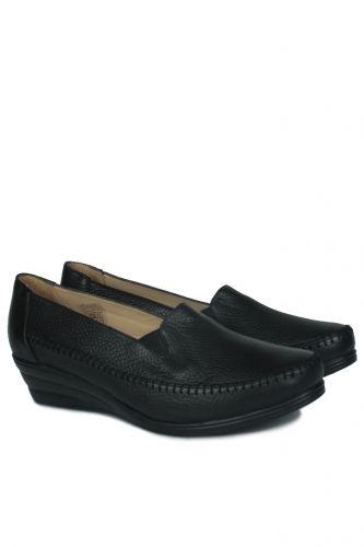 33 34 41 42 43 44 45 Küçük Büyük Numara Kadın Ayak - Erkan Kaban 4800 014 Kadın Siyah Günlük Ayakkabı (1)