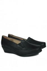 Erkan Kaban 4800 014 Kadın Siyah Günlük Büyük & Küçük Numara Ayakkabı - Thumbnail