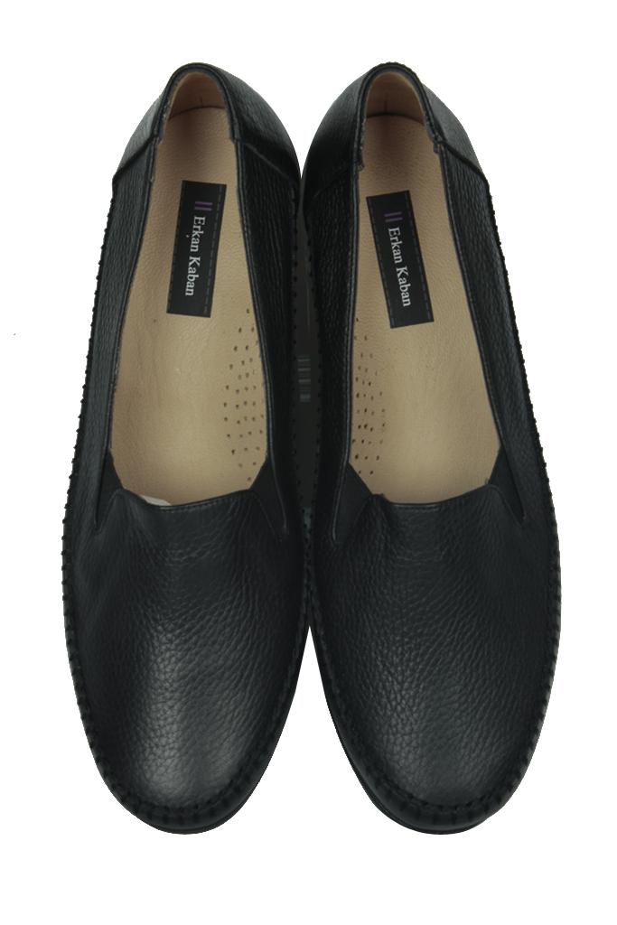 Erkan Kaban 4800 014 Kadın Siyah Günlük Büyük & Küçük Numara Ayakkabı