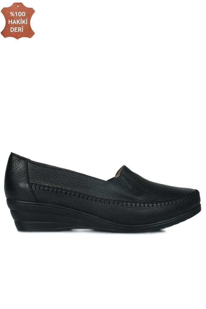 Fitbas 4800 014 Kadın Siyah Günlük Büyük & Küçük Numara Ayakkabı