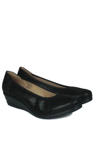 Fitbas - Fitbas 5082 016 Kadın Siyah Günlük Büyük & Küçük Numara Ayakkabı (1)