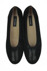 Fitbas 5082 016 Kadın Siyah Günlük Büyük & Küçük Numara Ayakkabı - Thumbnail