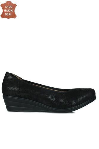 Fitbas 5082 016 Kadın Siyah Günlük Büyük & Küçük Numara Ayakkabı