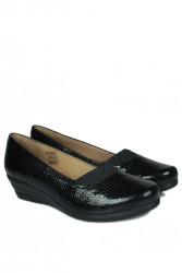 Fitbas 6254 020 Kadın Siyah Günlük Büyük & Küçük Numara Ayakkabı - Thumbnail