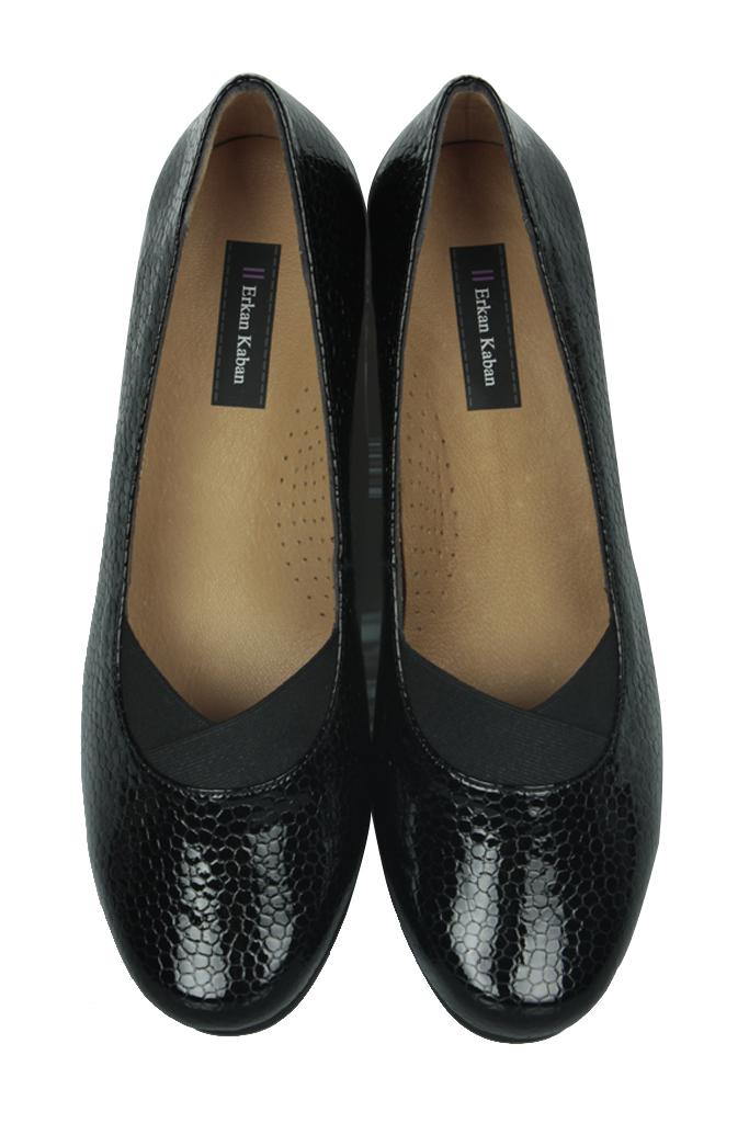 Fitbas 6254 020 Kadın Siyah Günlük Büyük & Küçük Numara Ayakkabı