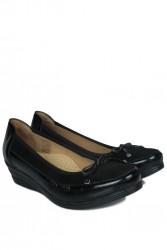 Fitbas 6475 025 Kadın Siyah Günlük Büyük & Küçük Numara Ayakkabı - Thumbnail