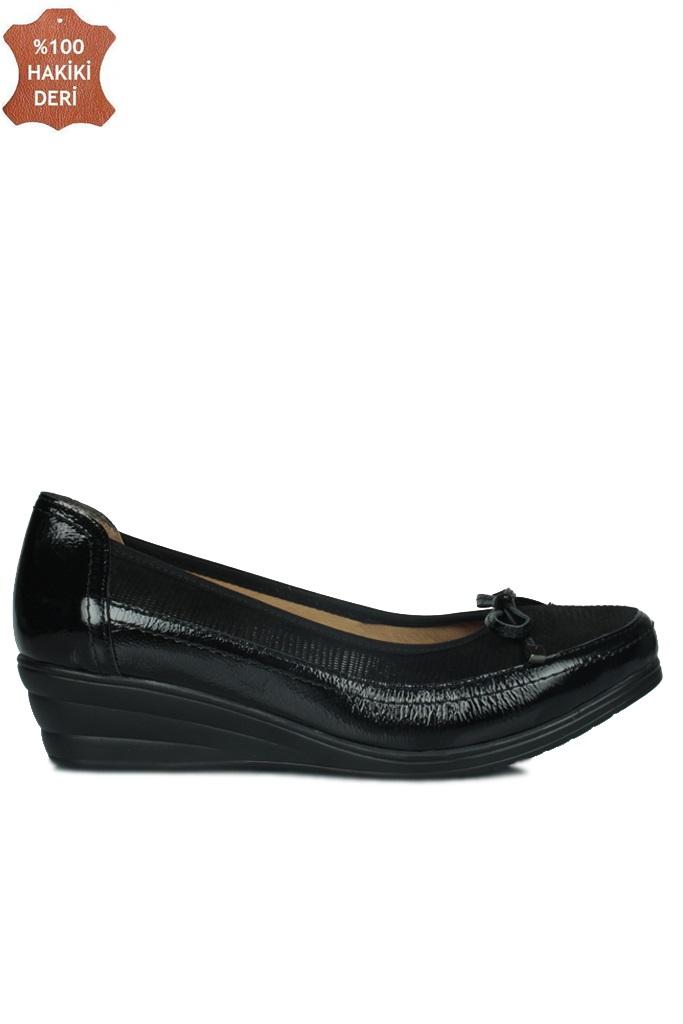 Fitbas 6475 025 Kadın Siyah Günlük Büyük & Küçük Numara Ayakkabı
