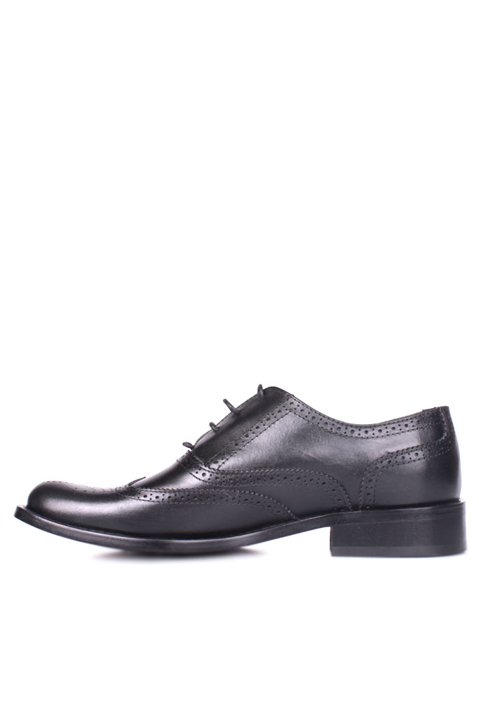 Erkan Kaban 327 014 Erkek Siyah Deri Klasik Ayakkabı