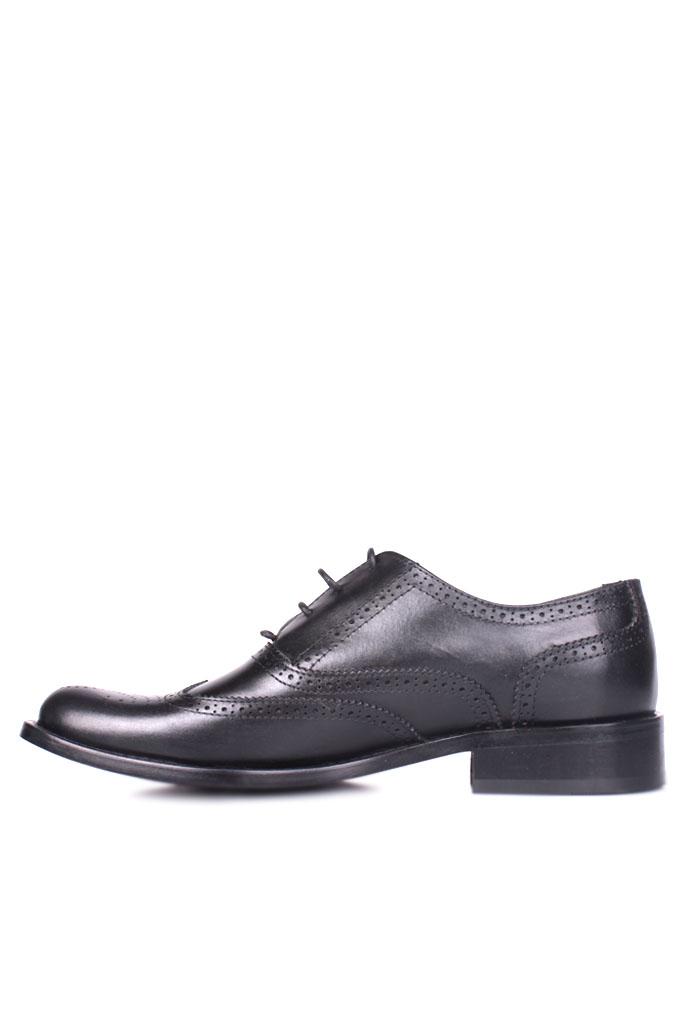 Erkan Kaban 327 014 Erkek Siyah Deri Klasik Büyük & Küçük Numara Ayakkabı