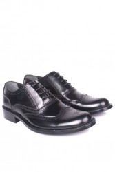 - Erkan Kaban 327 020 Erkek Siyah Açma Deri Klasik Ayakkabı (1)