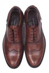 Erkan Kaban 327 167 Erkek Taba Deri Klasik Büyük & Küçük Numara Ayakkabı - Thumbnail