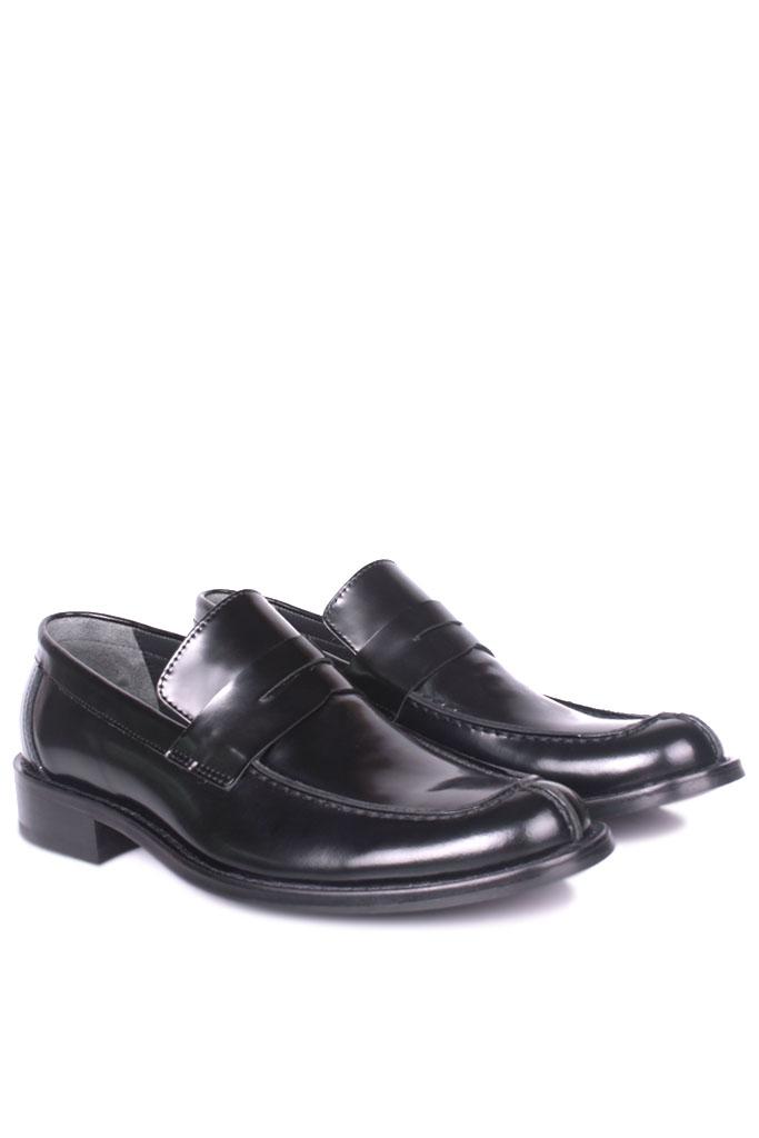 Erkan Kaban 332 020 Erkek Siyah Açma Deri Klasik Ayakkabı