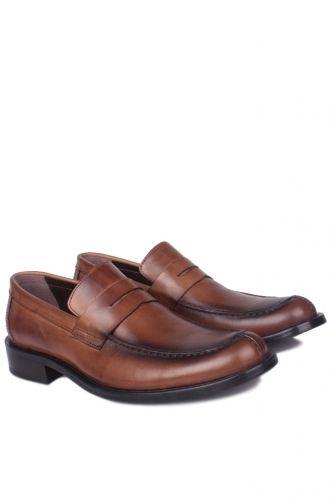 36 37 38 39 46 48 49 Küçük Büyük Numara Erkek Ayak - Erkan Kaban 332 167 Erkek Taba Açma Deri Klasik Ayakkabı (1)