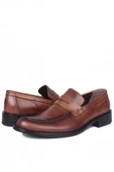 Erkan Kaban 332 167 Erkek Taba Deri Klasik Büyük & Küçük Numara Ayakkabı - Thumbnail