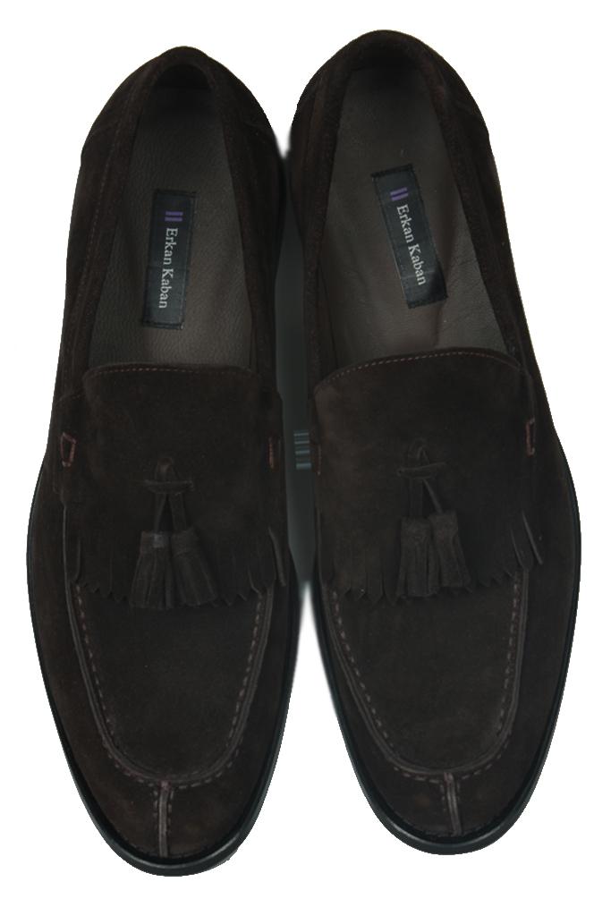 Erkan Kaban 335 242 Erkek Kahve Süet Klasik Büyük & Küçük Numara Ayakkabı