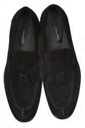 Erkan Kaban 335 242 Erkek Kahve Süet Klasik Büyük & Küçük Numara Ayakkabı - Thumbnail