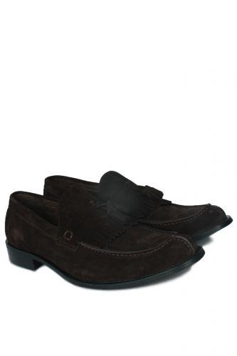 Fitbas - Fitbas 335 242 Erkek Kahve Süet Klasik Büyük & Küçük Numara Ayakkabı (1)