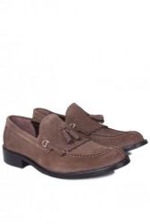 Erkan Kaban 335 321 Erkek Haki Süet Klasik Ayakkabı - Thumbnail