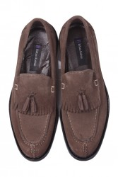 Erkan Kaban 335 321 Erkek Haki Süet Klasik Büyük & Küçük Numara Ayakkabı - Thumbnail