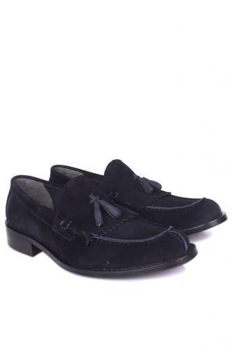 Fitbas - Fitbas 335 427 Erkek Lacivert Süet Klasik Büyük & Küçük Numara Ayakkabı (1)