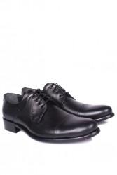 - Erkan Kaban 754 019 Erkek Siyah Deri Klasik Ayakkabı (1)