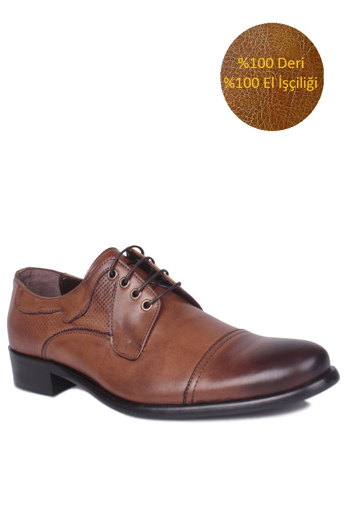 Erkan Kaban 754 167 Erkek Taba Deri Klasik Ayakkabı