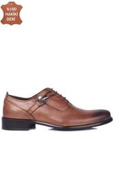 Erkan Kaban 801 167 Erkek Taba Deri Klasik Büyük & Küçük Numara Ayakkabı - Thumbnail