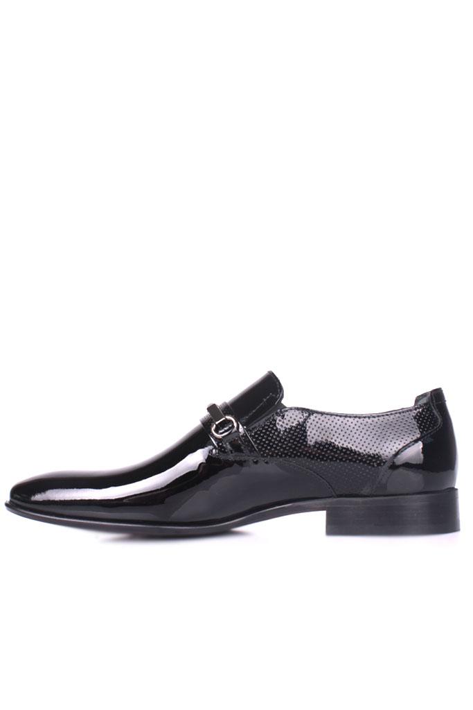 Erkan Kaban 956 020 Erkek Siyah Rugan Klasik Ayakkabı