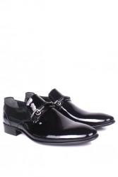 Erkan Kaban 956 020 Erkek Siyah Rugan Klasik Ayakkabı - Thumbnail