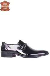 Erkan Kaban 956 020 Erkek Siyah Rugan Klasik Büyük & Küçük Numara Ayakkabı - Thumbnail