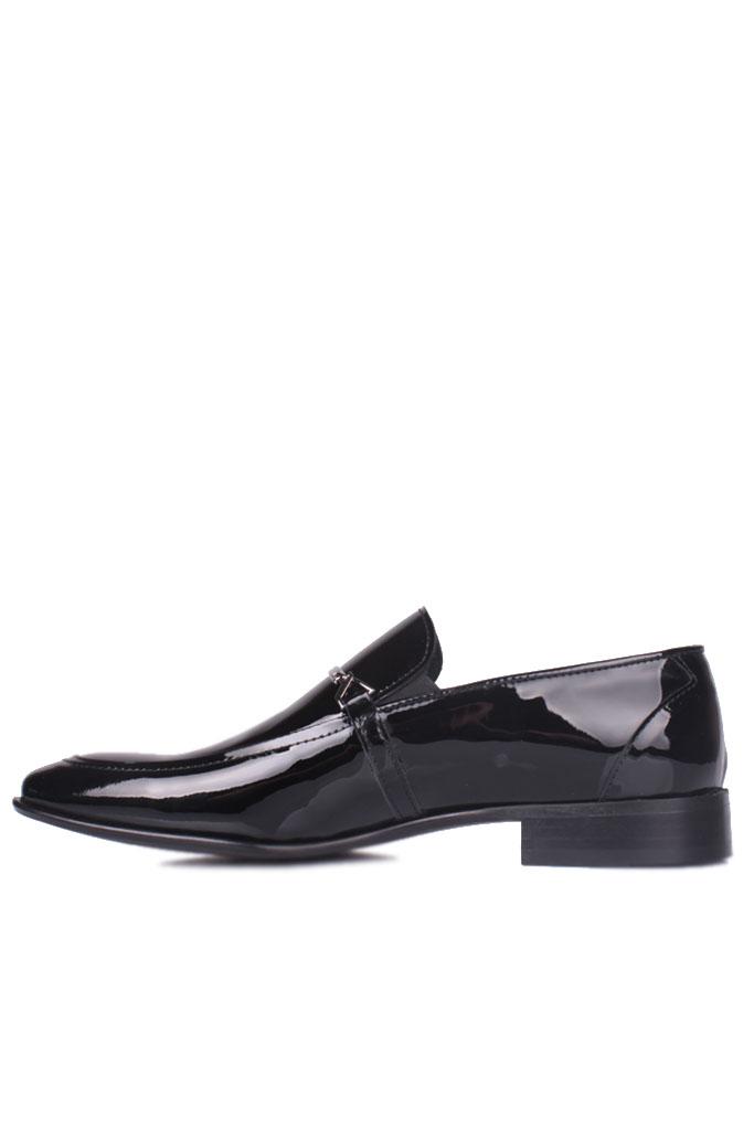 Erkan Kaban 972 020 Erkek Siyah Rugan Klasik Büyük & Küçük Numara Ayakkabı